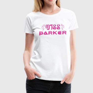 Miss Parker - Women's Premium T-Shirt