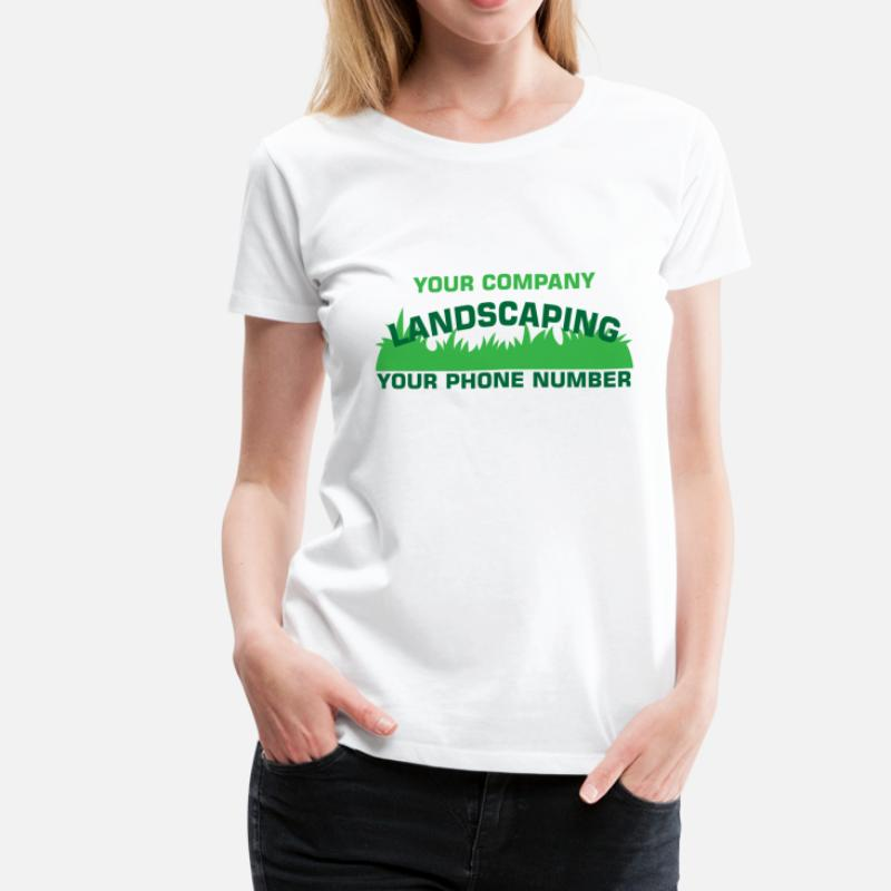 - Shop Landscaping T-Shirts Online Spreadshirt