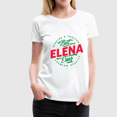 Name ELENA - Women's Premium T-Shirt