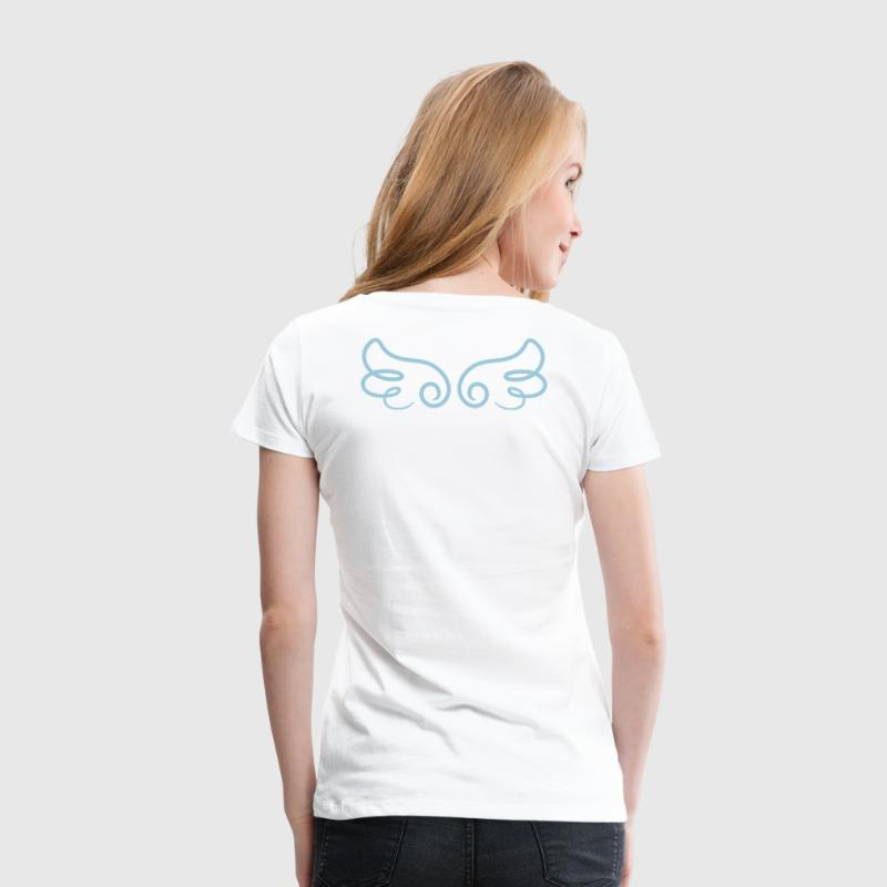 Kawaii Angel Wings - Women's Premium T-Shirt