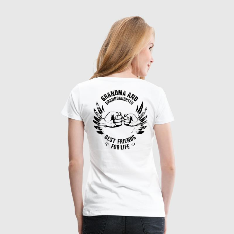 Grandma and Granddaughter - Women's Premium T-Shirt