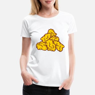 Chicken Meat nuggets chicken chicken chicken meat fast food del - Women's Premium T-Shirt