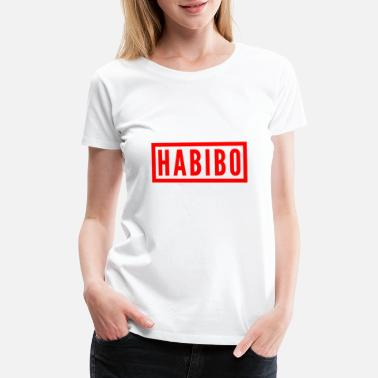 Middle East Habibo Arab T-shirt Arabic shirt middle east gift - Women's Premium T-Shirt