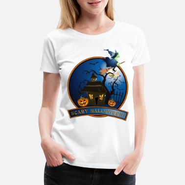 Pirate Party happy_halloween_10_201608 - Women's Premium T-Shirt