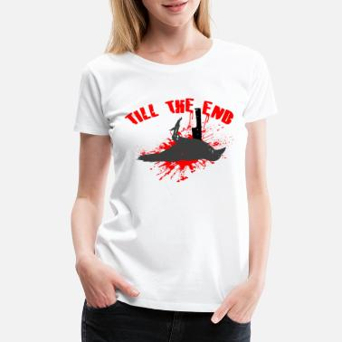 Skate Crow Skater Crow, TILL THE END - Women's Premium T-Shirt