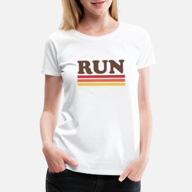 Runner Stuff run_retro_6 - Women's Premium T-Shirt