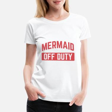 Clam Funny Mermaid Shirt - Women's Premium T-Shirt