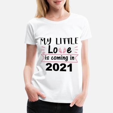 Date Birth is 2021 Pregnancy - Women's Premium T-Shirt