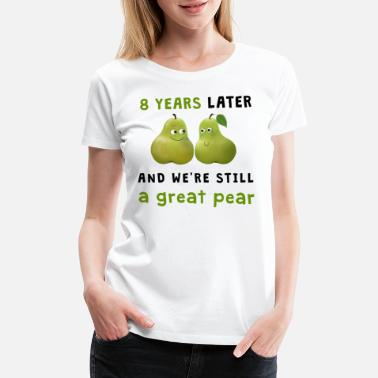Fruit Pear - great pear / Birnen - großartiges Paar (8) - Women's Premium T-Shirt