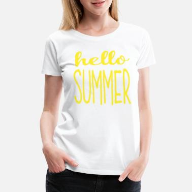 Summer Sayings summer - Women's Premium T-Shirt
