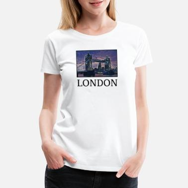 City London Holidays Vacation City Souvenir - Women's Premium T-Shirt