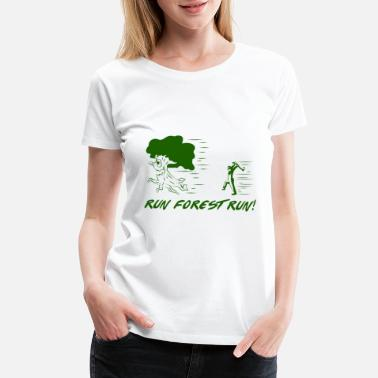 Forest Save earth - Climate Change and Global Warming - Women's Premium T-Shirt
