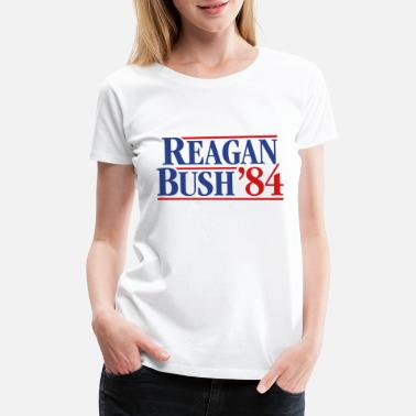 Bush Reagan - Bush '84 campaign - Women's Premium T-Shirt