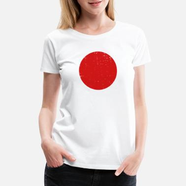 Japanese Flag Japan - Japanese Flag - Women's Premium T-Shirt