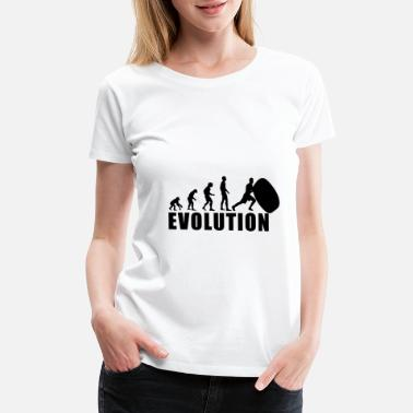 Strongman Funny EVOLUTION STRONGMAN / FOR WOMAN, MAN AND KIDS - Women's Premium T-Shirt