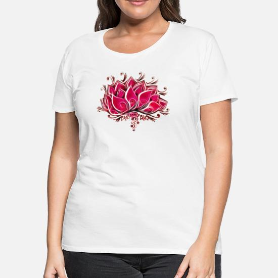 Buddha Lotus Flower Logo T Shirt Spiritual Top Chakra Yoga Zen Meditation