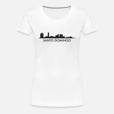 cb3a51dc Santo Domingo Dominican Republic Skyline Women's Polo Shirt ...