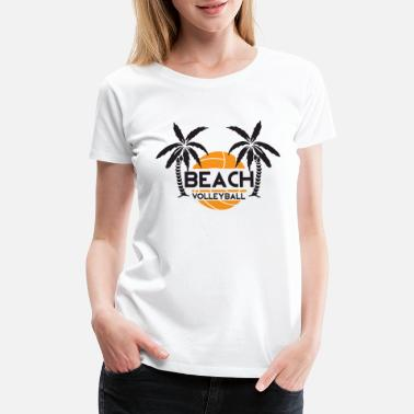 Porn Volleyball Volleyball - Beach volleyball - Women's Premium T-Shirt