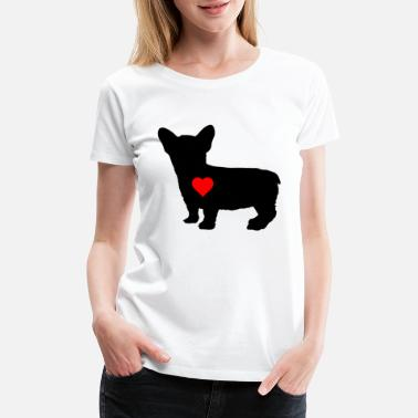 Mistress Love Mistress Master Gift Dog Puppy Dog Love - Women's Premium T-Shirt