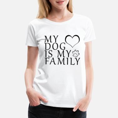 Doberman Dogs Family Love Retriever Pfote Gift - Women's Premium T-Shirt