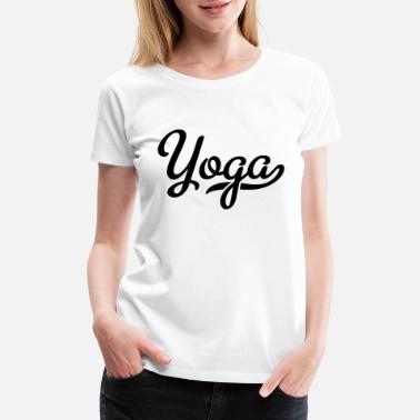 Spiritual Words yoga word - Women's Premium T-Shirt
