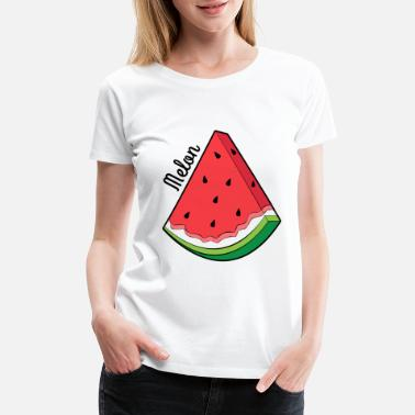 Melon Melon with Melon - Women's Premium T-Shirt