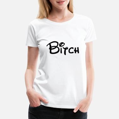 Cheating Bitch - Woman - Slut - Funny Quote - Women's Premium T-Shirt