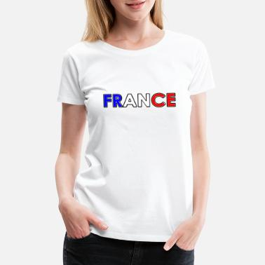 National Colors France - Tricolore - National Colors - Women's Premium T-Shirt