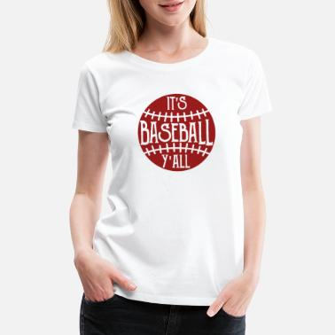 Softball Dads FUNNY COOL CUTE BASEBALL product - CUTE BASEBALL - Women's Premium T-Shirt