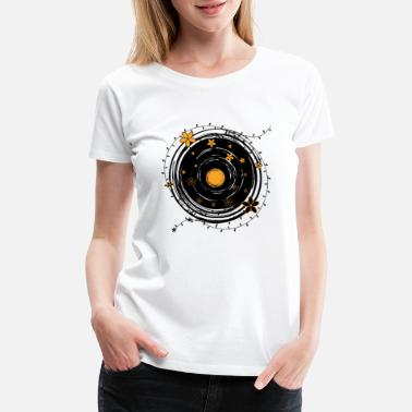 60s Old Phonograph Record Graphic Vintage Vinyl LP - Women's Premium T-Shirt