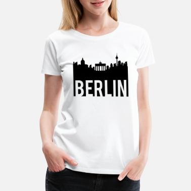 Berlin Berlin Skyline - Women's Premium T-Shirt
