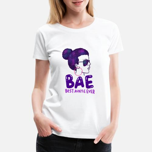 10136e58dd621 Aunt T-Shirts - BAE Best Auntie Ever Niece Nephew Family Love Gift -  Women s. Do you want to edit the design