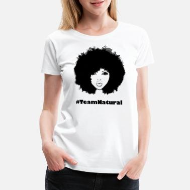 Natural Hair Autumn Attitude - Women's Premium T-Shirt