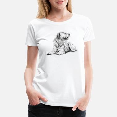 Golden Retriever Golden Retriever - Women's Premium T-Shirt