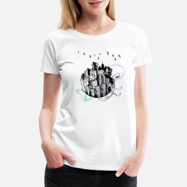 Circle City City Circle - Women's Premium T-Shirt
