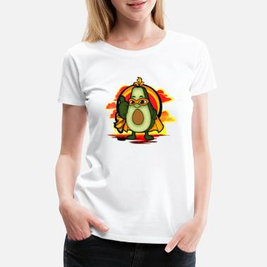 Raw Avocado sweet funny avogato gift idea - Women's Premium T-Shirt
