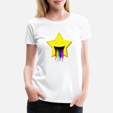 Throw Up Star throw up - Women's Premium T-Shirt