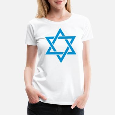 Hexagram Star of David - Women's Premium T-Shirt