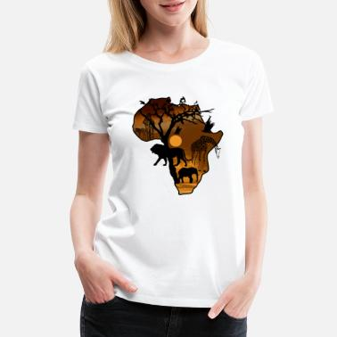 Jungle Safari African Jungle Wild Animals t-shirts - Women's Premium T-Shirt