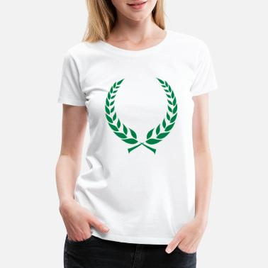 Laurel Wreath Laurel Wreath - Women's Premium T-Shirt