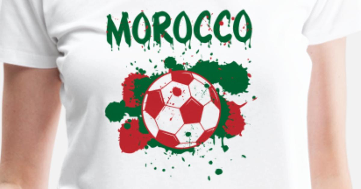 7c51914e8d9 Morocco Soccer Shirt Fan Football Gift Funny Cool Women's Premium T-Shirt |  Spreadshirt