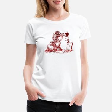 Norman Thelwell Thelwell Tooth Dentist Control - Women's Premium T-Shirt