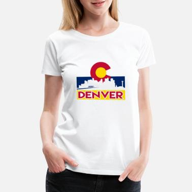 Denver-colorado Denver, Colorado - Women's Premium T-Shirt