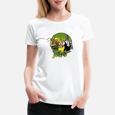 Japanese Comics comics - Women's Premium T-Shirt