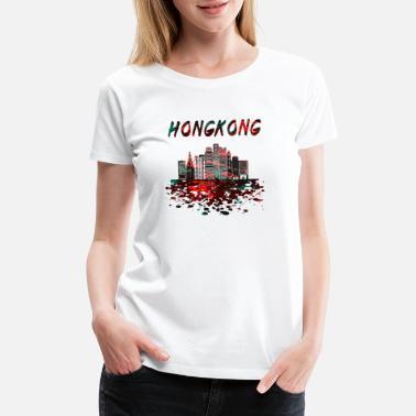 1c41b3a6 Fill Your Pinholes Automotive Painter Shirt. from $29.49. Hong Kong Skyline  / Gift Far East China - Women's Premium T
