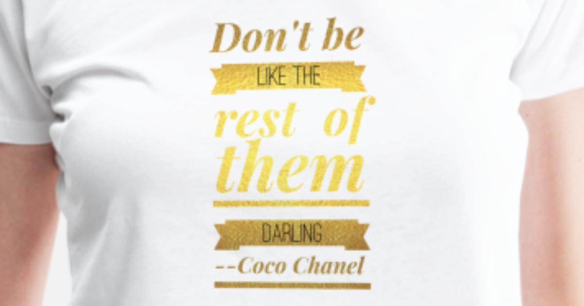 1ea807c95aca ... coco chanel women s premium t shirt spreadshirt ...