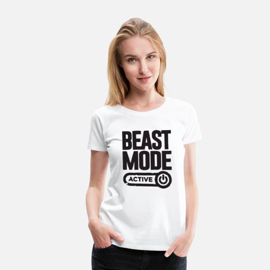 Mode T-Shirts - beast - Women's Premium T-Shirt white