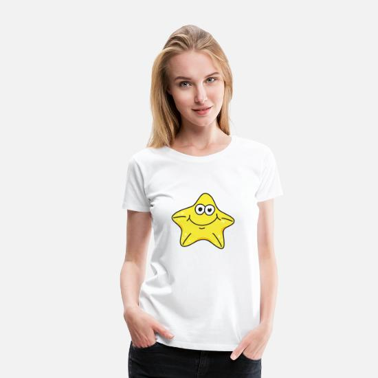 Pet T-Shirts - Starfish - Women's Premium T-Shirt white