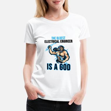 Electrical Engineering Electrical Engineering Shirt Engineer Nerd Gift - Women's Premium T-Shirt