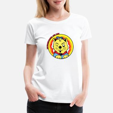 International Cat Day Cute - Women's Premium T-Shirt